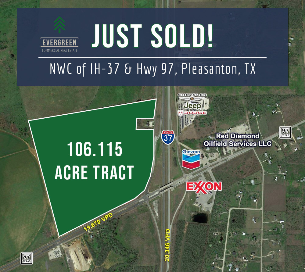February 2021 - A developer has purchased approximately 106.115 acres